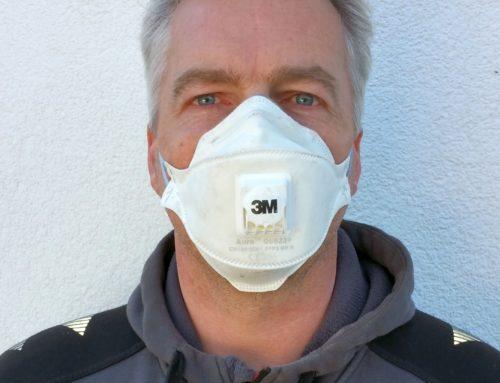 """Krisenhilfe Aktion """"Jede Maske zählt"""""""